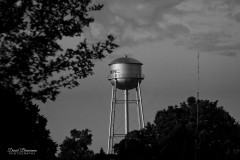 Waxhaw water tower from northeast view